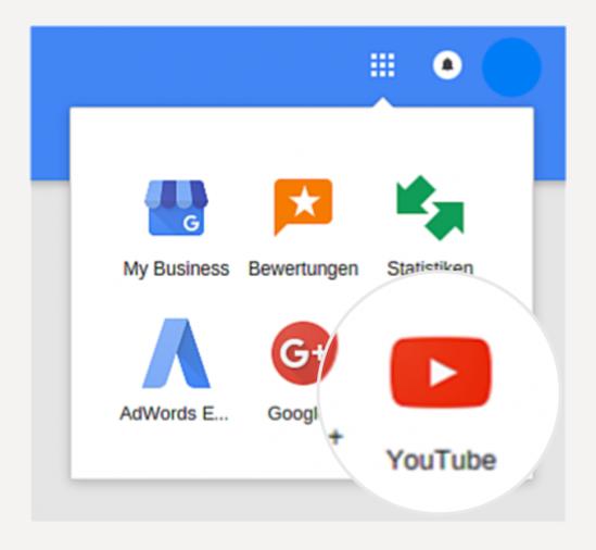 YouTube Konto erstellen